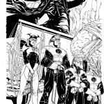 "COVER RED LANTERNS #26 11""x17"" B/W"