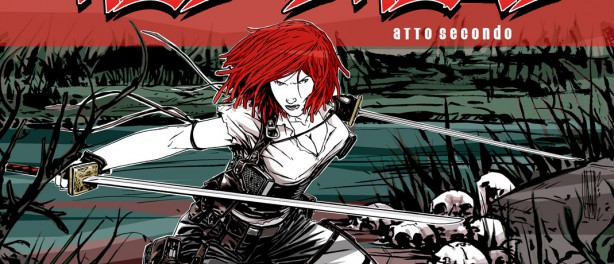 RED DREAD Front COVER Atto Secondo
