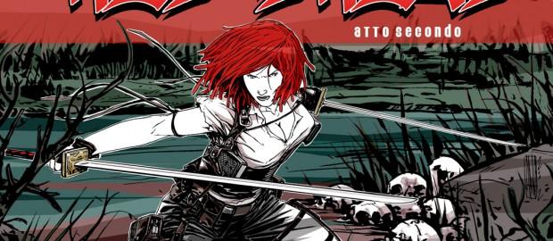 RED DREAD Front COVER Atto Secondo